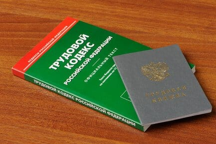 Выдаем трудовую книжку по ТК РФ